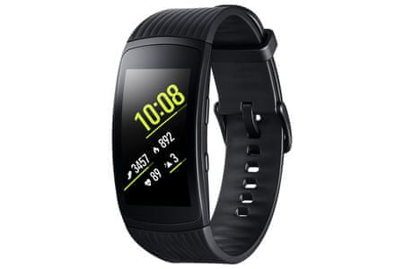 Samsung pametna ura Gear Fit 2 Pro, črna, S