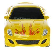 Mikro hračky Auto RC I-DRIVE s ovládacím náramkom žlté