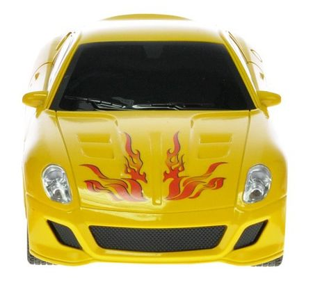 Mikro hračky Auto RC I-DRIVE s ovládacím náramkem žluté