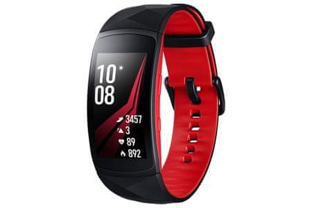 Samsung pametna ura Gear Fit 2 Pro, rdeča, S