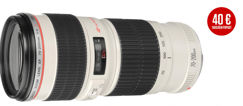Canon 70-200 mm EF f/4,0 L USM