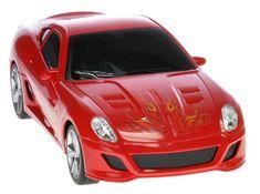 Mikro hračky Auto I-DRIVE s ovládacím náramkom červené