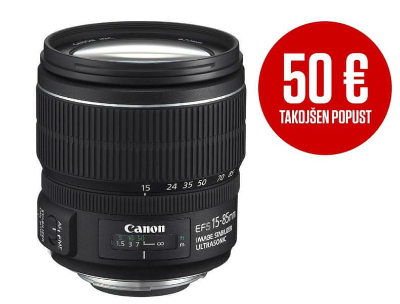 Canon EF-S 15-85 mm f/3,5-5.6 IS USM