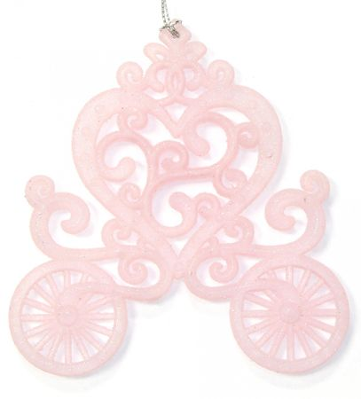 Seizis okrasek z bleščicami, 11cm, roza, 3 kosi