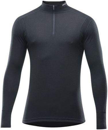 Devold Hiking Man Half Zip Neck Black M