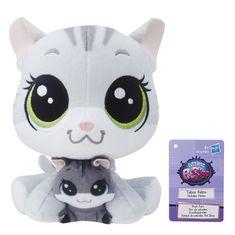 Littlest Pet Shop Duo plyšových zvířátek - Kitty