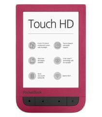 PocketBook 631 Touch HD czerwony