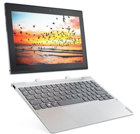 Lenovo prenosnik Miix 320 Atom Z8350/4GB/64GB/10,1HD/W10P (80XF00FXSC)