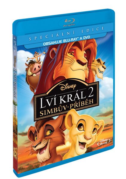 Lví král 2: Simbův příběh (Combo Pack BD+DVD) - Blu-ray