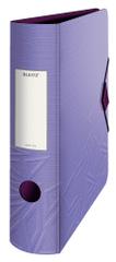 Mobilní pořadač Leitz 180° Urban Chic A4 8,2 cm fialový