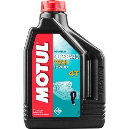 Motul olje Outboard Tech 4T, 10W30, 2 L
