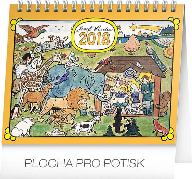 Stolní kalendář Josef Lada – Zvířátka 2018