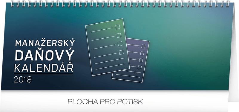 Stolní kalendář Manažerský daňový 2018