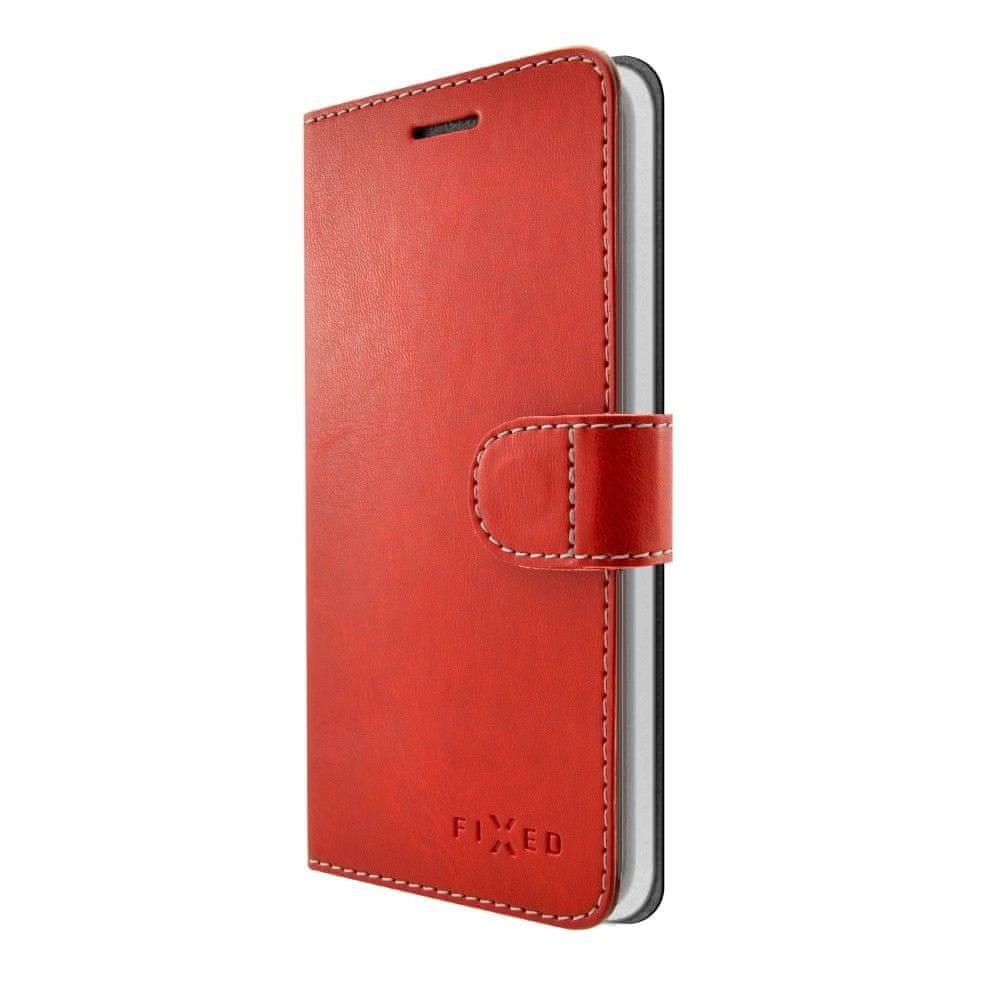 Fixed Pouzdro typu kniha Fit pro Samsung Galaxy J5 (2017), červené
