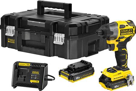 Stanley akumulatorski brezkrtačni vijačnik FMC647D2T