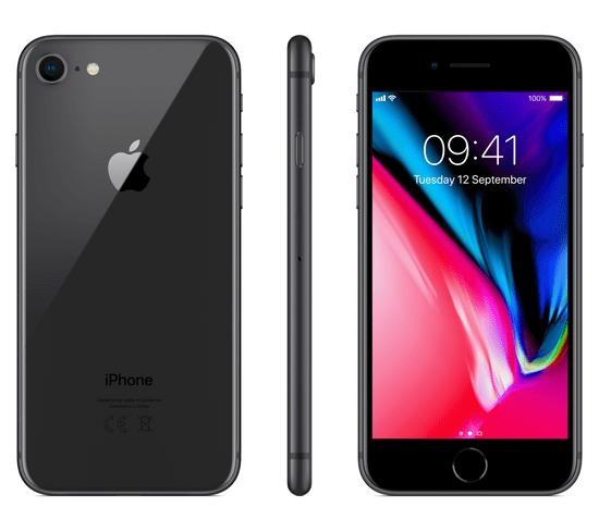 Apple iPhone 8, 64GB, Vesmírně šedý