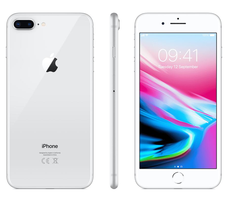 Apple iPhone 8 Plus, 64GB, Stříbrný - rozbaleno