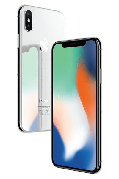 Apple iPhone X, 64GB, Stříbrný