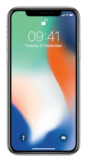 REMADE iPhone X mobilni telefon, 64 GB, srebrna