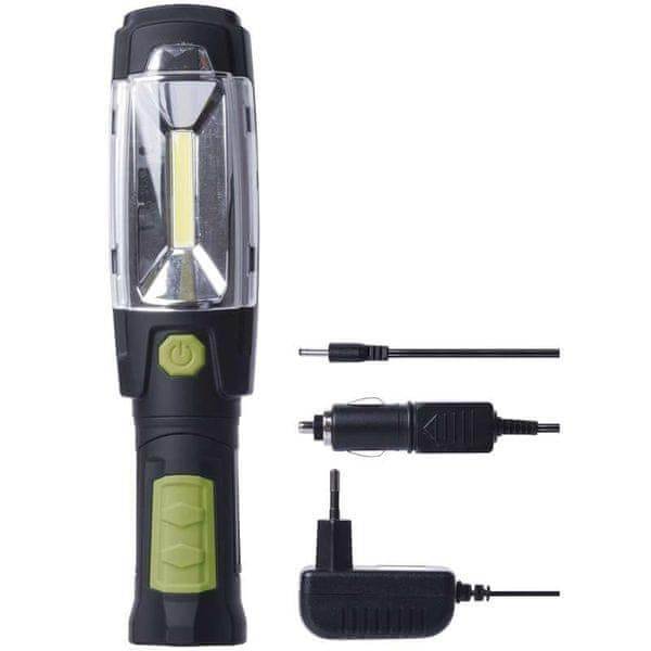 Emos Nabíjecí svítilna 3W COB 6 LED
