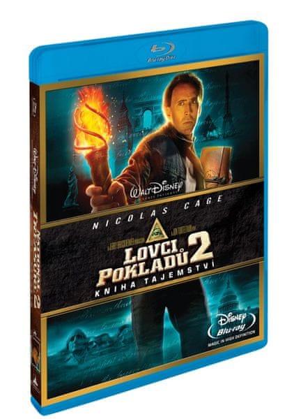 Lovci pokladů 2.: Kniha tajemství - Blu-ray