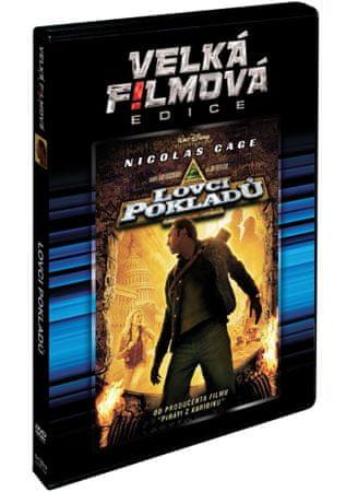 Lovci pokladů   - DVD