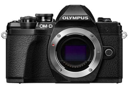 Olympus digitalni brezzrcalni fotoaparat OM-D E-M10 Mark III, ohišje, črno