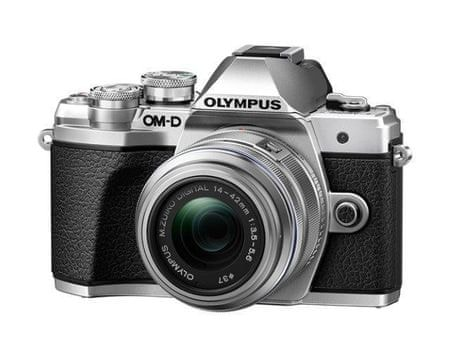 Olympus E-M10 Mark III + 14-42 mm II R Silver