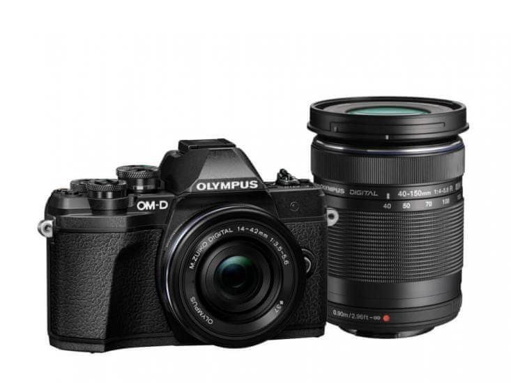 Olympus OM-D E-M10 Mark III + 14-42 mm EZ + 40-150 mm R Black