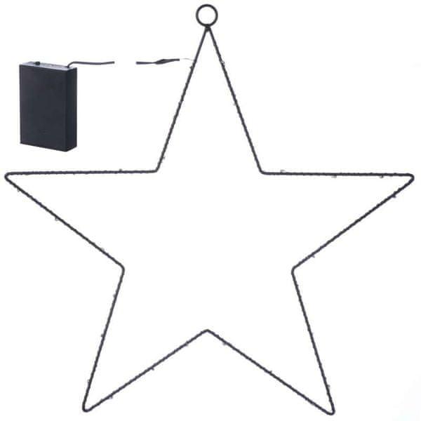 Emos Svítící dekorace metal star 30LED