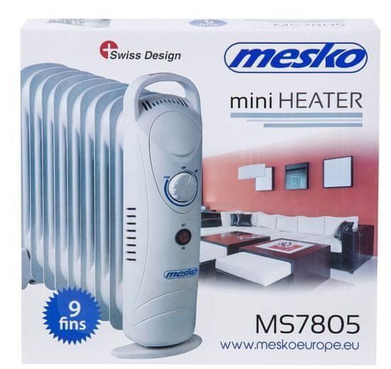 Mesko električni radiator 1000W (MS7805)