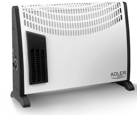 Adler konvekcijski grelnik 2000W, bel
