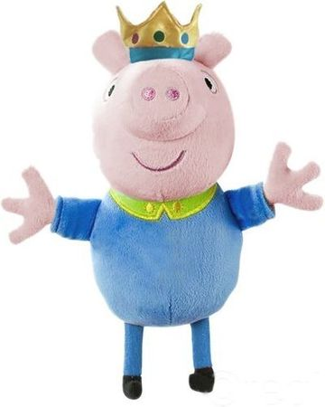 TM Toys Peppa Pig - plyšový princ George 35,5 cm