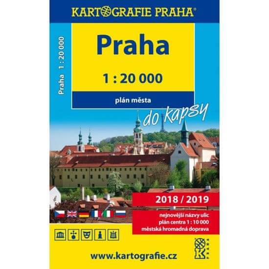 Praha do kapsy - plán města 1:20 000