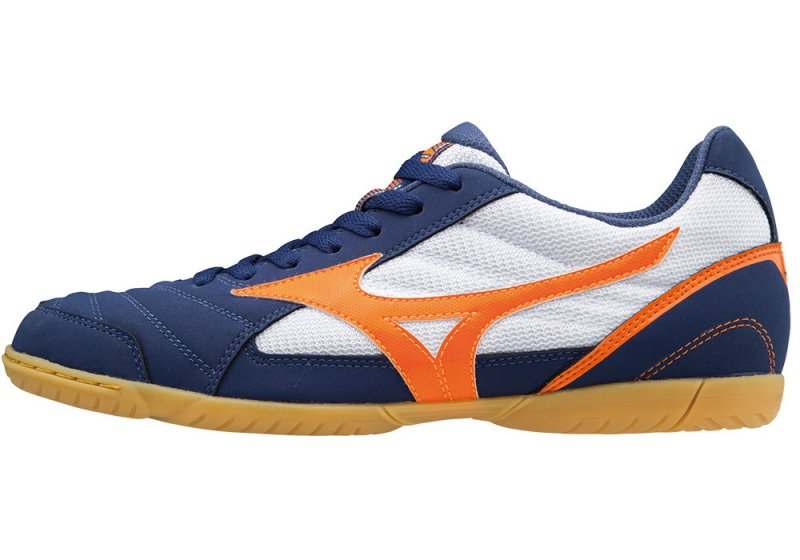 Mizuno Sala Club 2 IN/BlueDepths/OrangeCFish/W/44.0/9.5