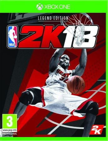 Take 2 NBA 2k18 - Legend Edition (Xbox One)