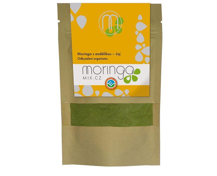 Moringa MIX Moringový čaj s andělikou 30g