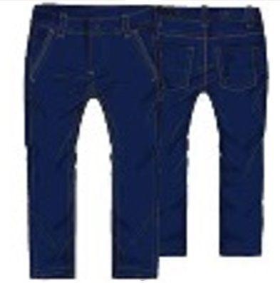 Primigi dívčí jeansy 98 tmavě modrá