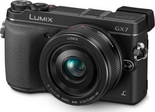 Panasonic DMC-GX7 + 20 mm Black (DMC-GX7CEG-K)