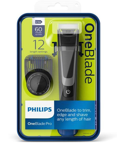 Philips večfunkcijski brivnik OneBlade Pro QP6510/20