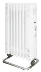 Mill oljni radiator 1500W JA1500, bel
