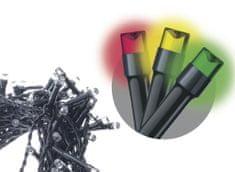 Emos Řetěz s časovačem 40 LED 4+5 m multicolor