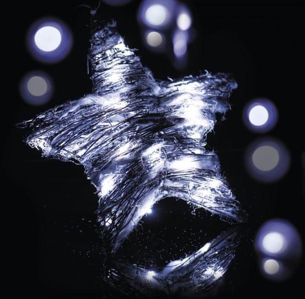 Emos Osvětlení Sněhový hvězda 30 LED