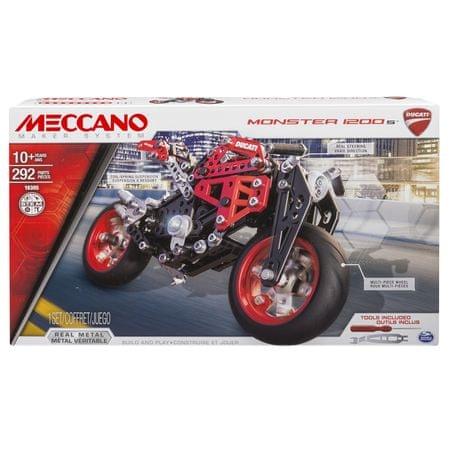 MECCANO Meccano Zestaw - motor Ducati Monster 1200 S