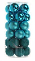 Seizis Set plastových koulí 30ks, mix modré