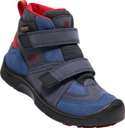 KEEN Hikeport Mid Strap Wp Jr dress blues/blue nights US 1 (32/33 EU)