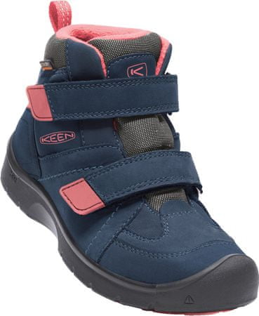KEEN Hikeport Mid Strap Wp Jr dress blues/sugar coral US 2 (34 EU)