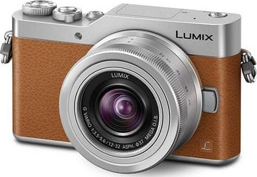Panasonic Lumix DMC-GX800 + 12-32 mm Brown (DC-GX800KEGT)
