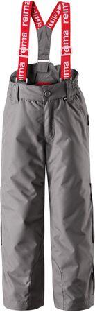 Reima otroške hlače Procyon, sive 116 cm
