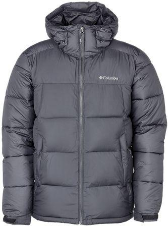 COLUMBIA kurtka męska Pike Lake Hooded Jacket Black XXL
